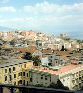 View of the bay of Naples from The Grand Hotel Parker's, Naples, Italy | Bown's Best