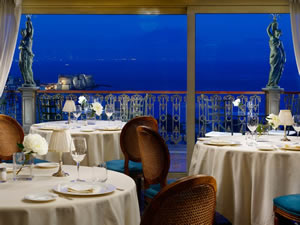 George's Restaurant at The Grand Hotel Parker's, Naples, Italy | Bown's Best