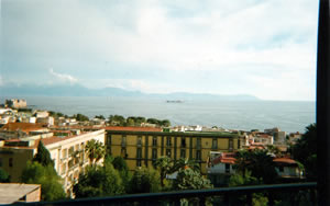 View of the bay from a hotel room at The Grand Hotel Parker's, Naples, Italy | Bown's Best