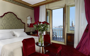Luxury Lagoon View Room with Furnished balcony, Hotel Danieli, Venice, Italy | Bown's Best