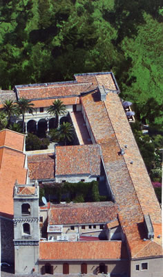 Aerial view of San Domenico Palace Hotel, Taormina, Sicily, Italy | Bown's Best