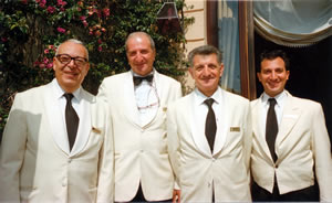 Some of the staff at San Domenico Palace Hotel, Taormina, Sicily, Italy | Bown's Best