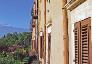 View to Mt Etna at San Domenico Palace Hotel, Taormina, Sicily, Italy | Bown's Best