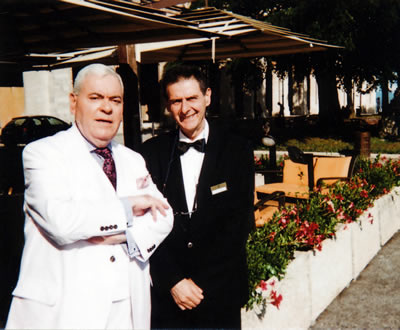 Francis Bown with Maite d' Gianluca, Brufani Palace Hotel, Perugia, Italy | Bown's Best | Francis Bown