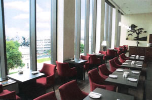 Club Lounge, Intercontinental Park Lane, London, UK