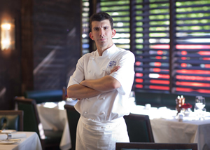 Head Chef Ian Rudge, The Rib Room, Jumeirah Carlton Tower, London, United Kingdom