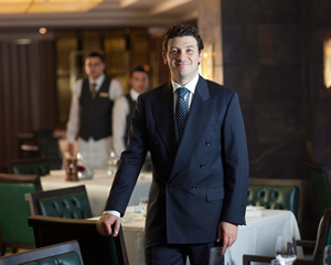 Italian Restaurant Manager, Michele Caggianese, Jumeirah Carlton Tower, London, United Kingdom