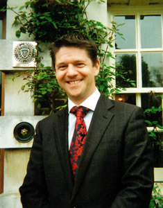 David Connell, General Manager, Lainston House Hotel, Winchester, Hampshire, United Kingdom