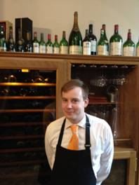 Sommelier Peter Foulds, Lainston House Hotel, Winchester, Hampshire, United Kingdom