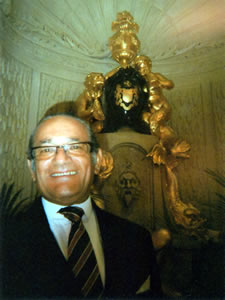 Mr Michael Kotb Manager of the Palm Court, Tea at The Ritz, London, United Kingdom | Bown's Best