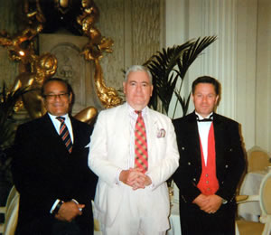 Mr Michael Kotb and Ian Doughty with Francis Bown, Tea at The Ritz, London, United Kingdom | Bown's Best