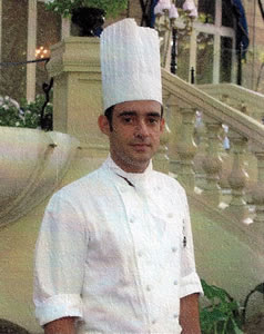 Chef Jorge Gonzalez, The Ritz Hotel, Madrd, Spain