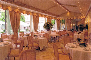 Summer Restaurant, Hotel le Bristol, Paris, France