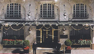 Hotel le Bristol, Paris, France