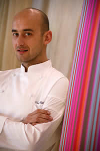 Chef Vincent Maillard, Restaurant 'B'at Hotel Byblos, St Tropez, The French Riviera, France | Bown's Best