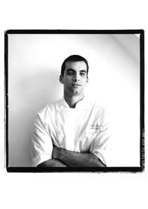 Gabriel Grapin, Chef, Restaurant La Cuisine. Hotel Le Royal Monceau Raffles, Paris, France