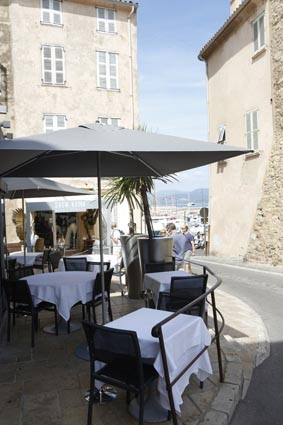 Restaurant Le Grand, St Tropez, French Riviera, France | Bown's Best