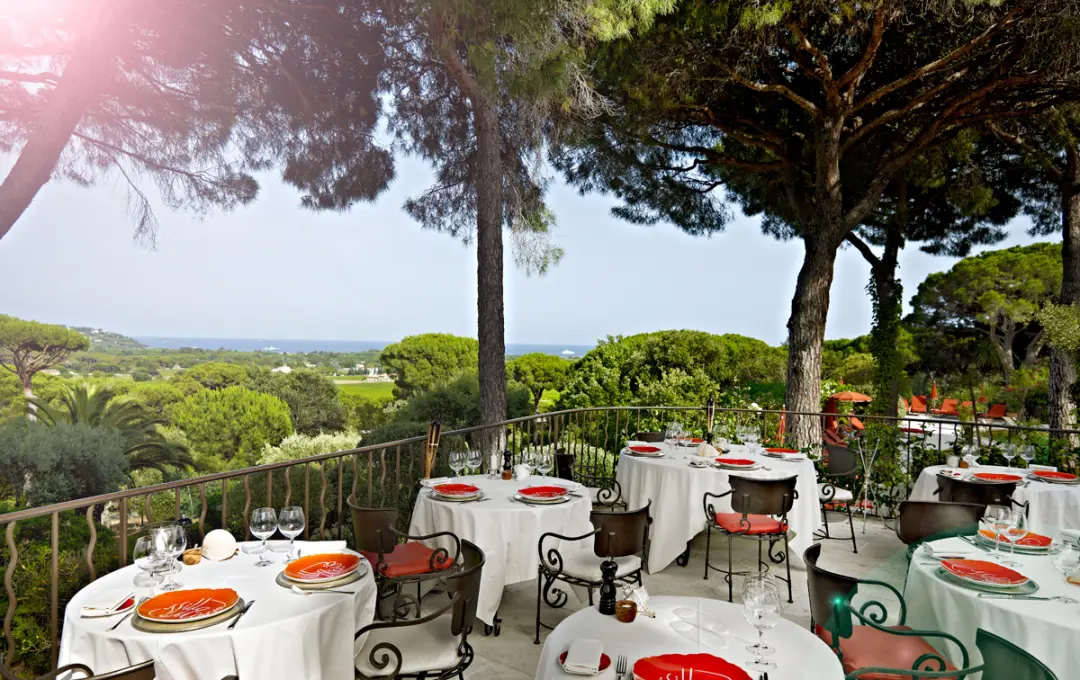 Restaurant Docle Vita, Ville Marie, St Tropez, French Riviera, France | Bown's Best