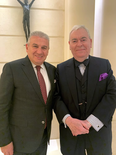 Claudio Ceccherelli & Francis Bown, Park Hyatt Paris - Vendôme, Paris, France | Bown's Best