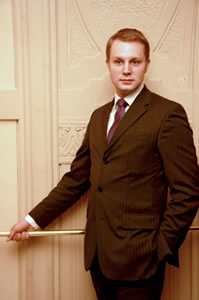Andreas Magnus, Food & Beverage Manager, Grand Hotel Europe, St Petersburg, Russia