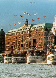 The Grand Hotel & Fredsgaten 12, Stockholm, Sweden
