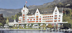 Park Hotel Vitznau, Lake Lucerne, Switzerland