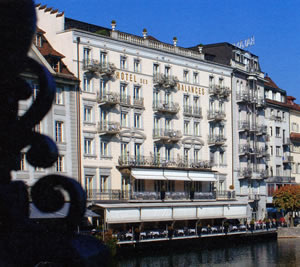Balances Restaurant, Luzern, Switzerland | Bown's Best