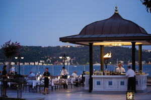Restaurant Aqua, Four Seasons Hotel, Istanbul, Turkey