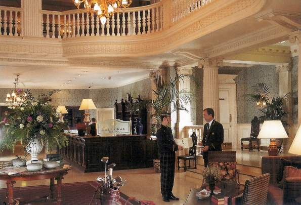 The Balmoral Hotel, Edinburgh - Entrance Lobby