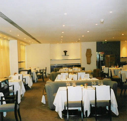 Sheraton Park Tower Hotel & Sartoria Restaurant, London