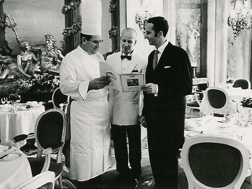Simon Girling with the Chef, The Centenary of The Ritz, London, UK
