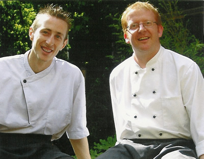 World Service, Nottingham, Executive Chef Chris Elson (Right) and Head Chef Preston Walker (Left)