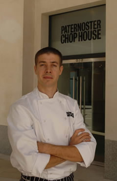 Chef Peter Weeden, The Paternoster Chop House, London, UK