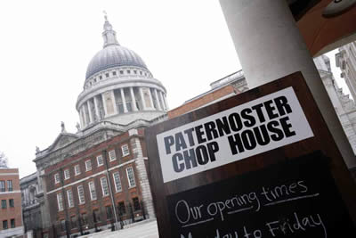 The Paternoster Chop House, London, UK