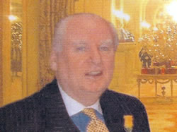 Michael Patrick Day, President of The Ritz, The Willian Kent House at The Ritz, London, UK