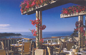 Highlands Inn & Pacific's Edge Restaurant, Carmel, California, USA
